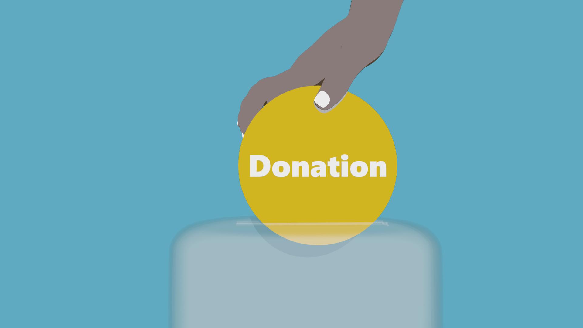 10 percent donation news